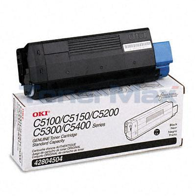 OKIDATA C5100N TONER BLACK 3K